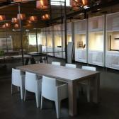 foto model STRETCH uitschuifbare eiken tafel